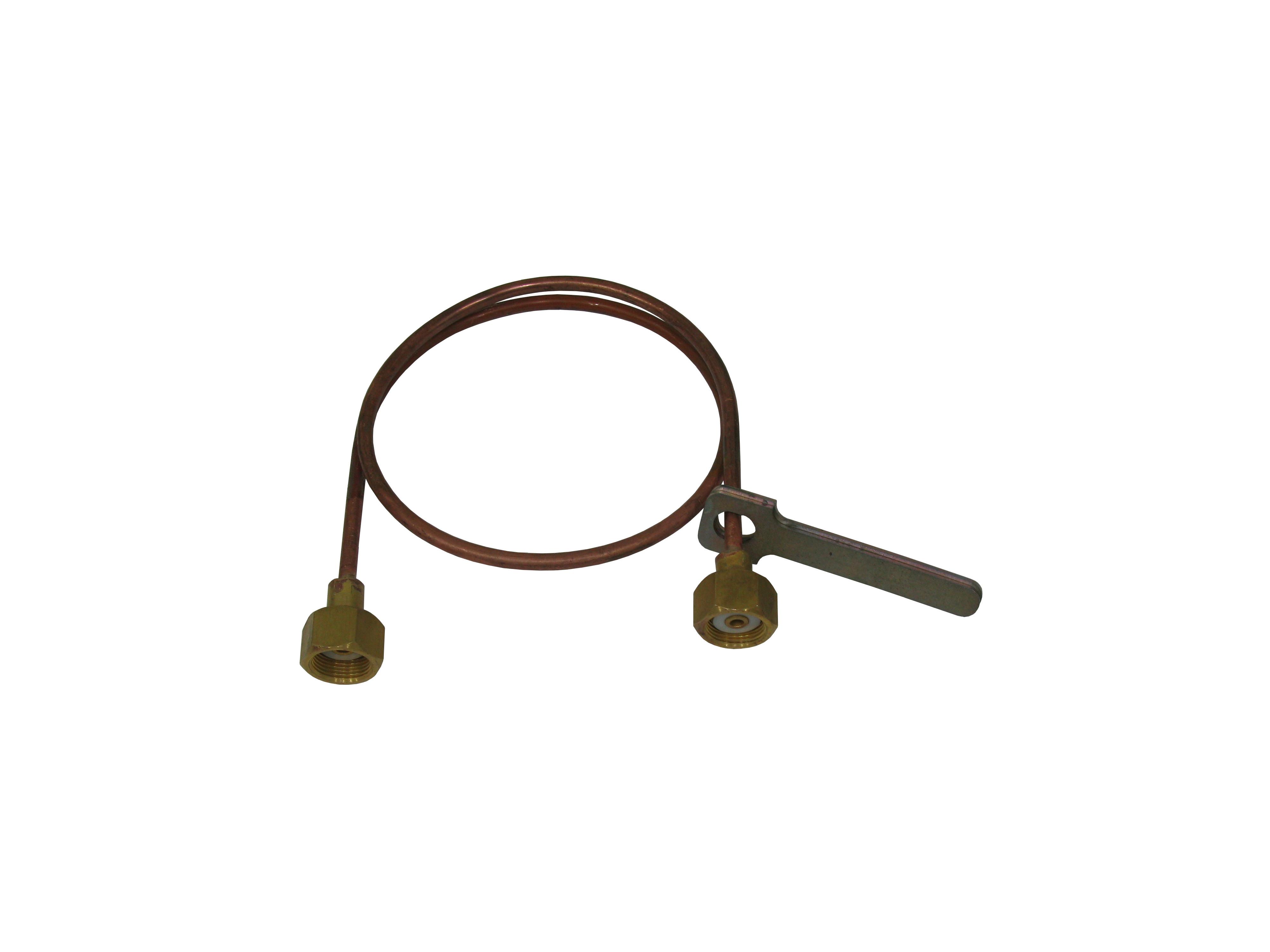 Змеевик ЗР с ключом трубка 8мм L1025 мм