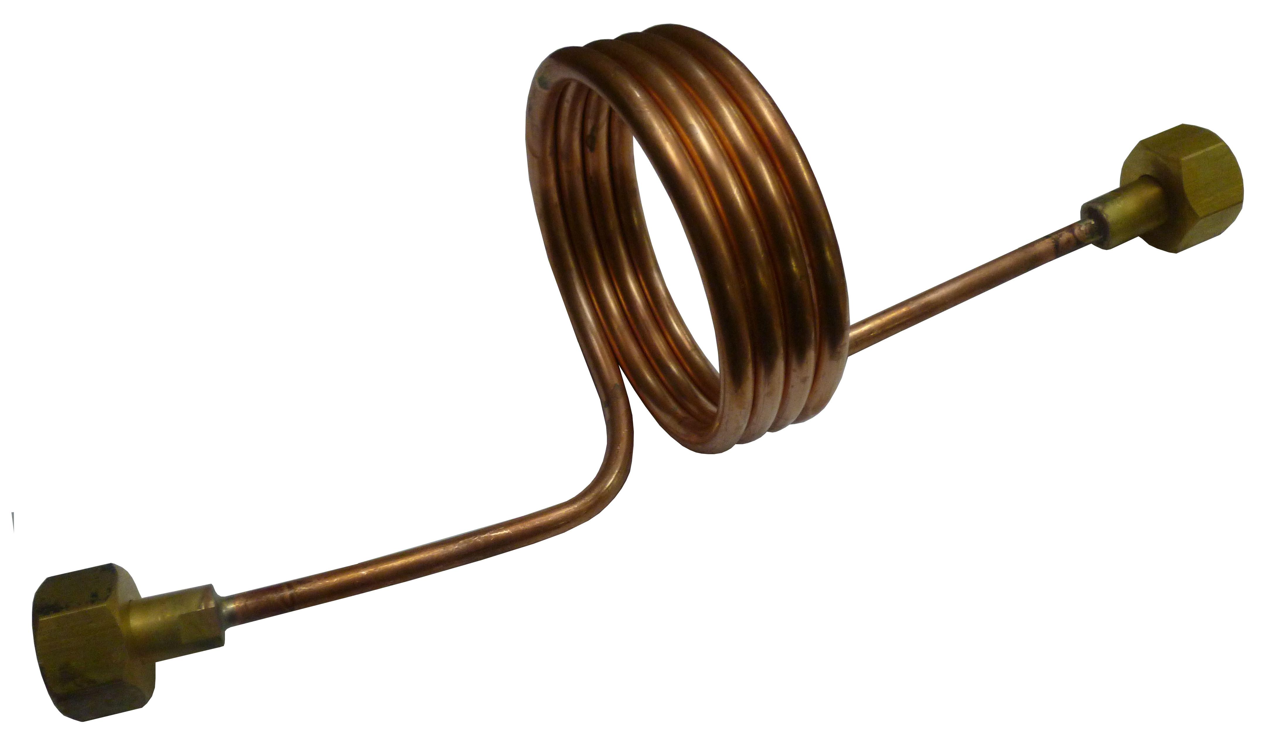 Змеевик ЗР трубка 8мм L1500мм