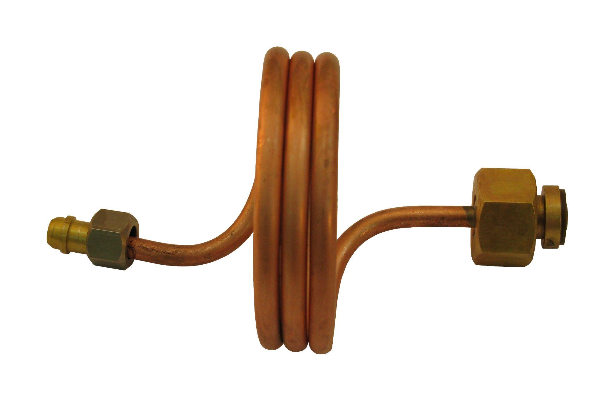 Змеевик рамповый G3-4 -М16х1,5 (сфера конус)