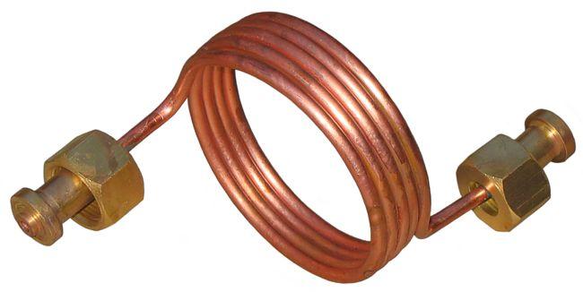 Змеевик рампы 34 - 34 (змеевик медный)