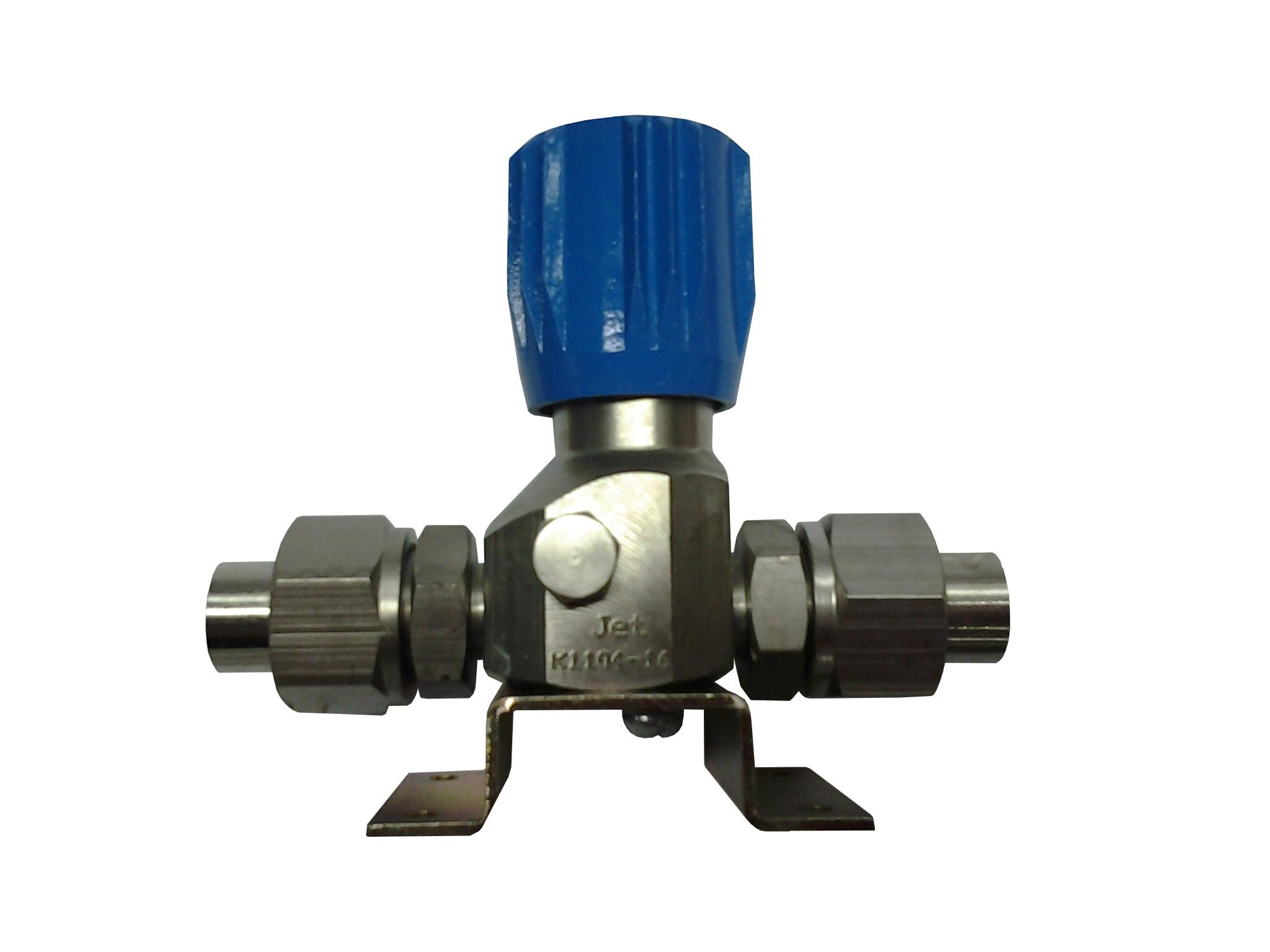 Клапан запорный К-1104-16 (ВМ-06) без манометра