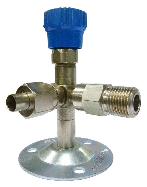 Клапан запорный К-2102-16
