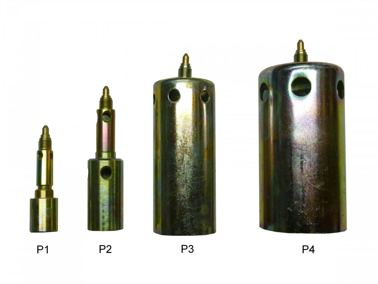 Наконечники с инжектором Р1, Р2, Р3, Р4-