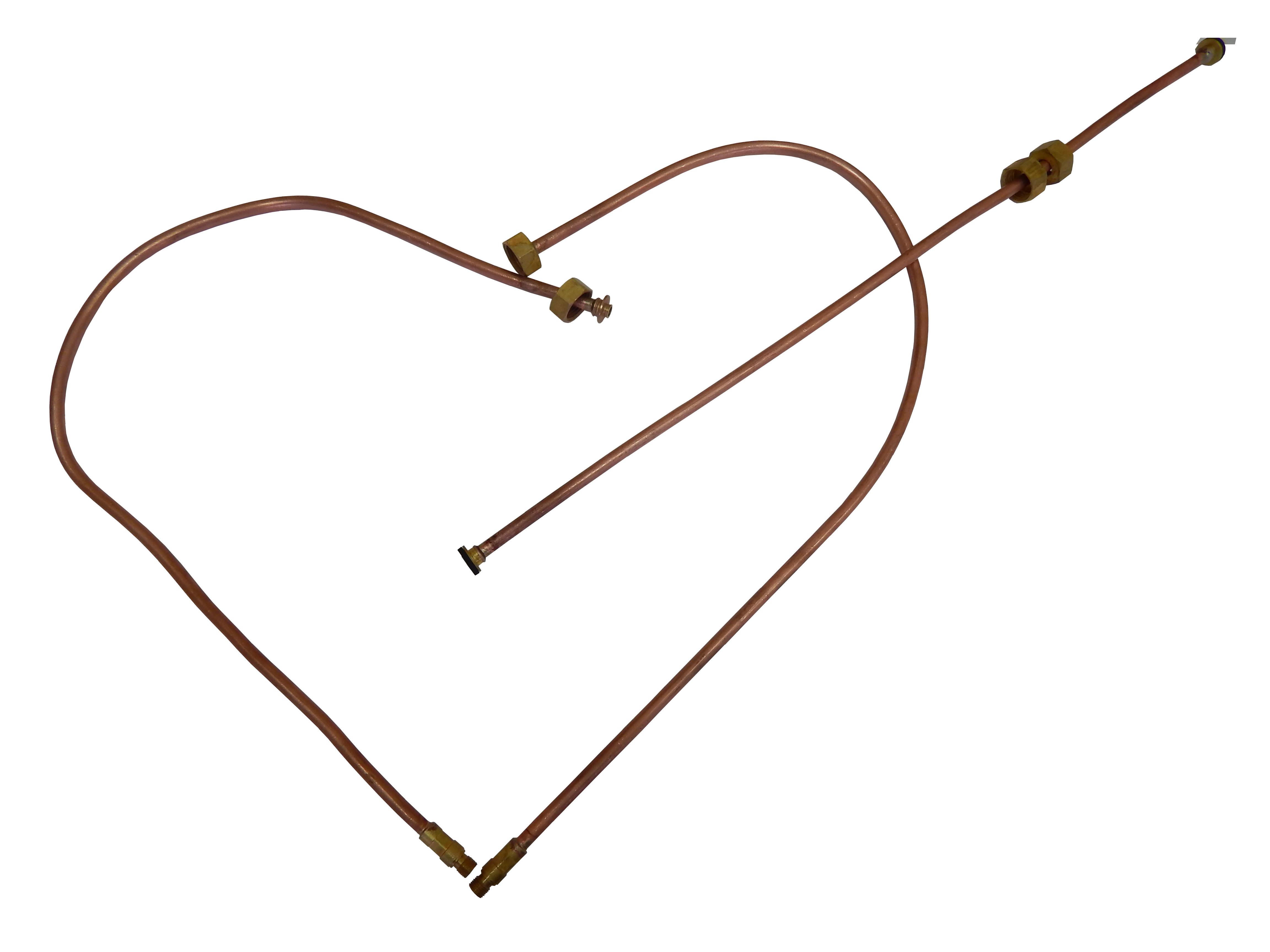 Подводки гибкие медные сердце