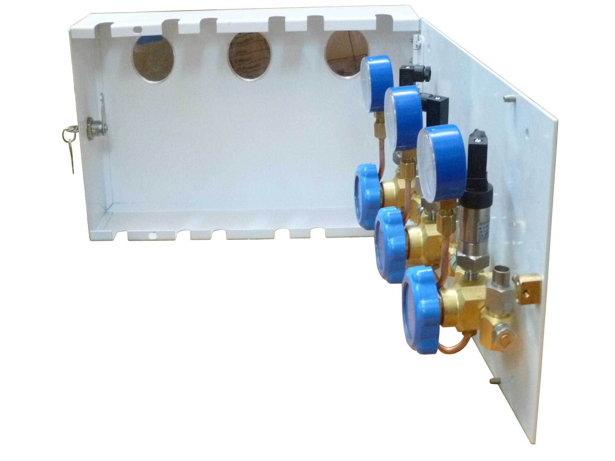 Поэтажная Отключающая Коробка УГВ-43 ( с датчиками дистанционного контроля)