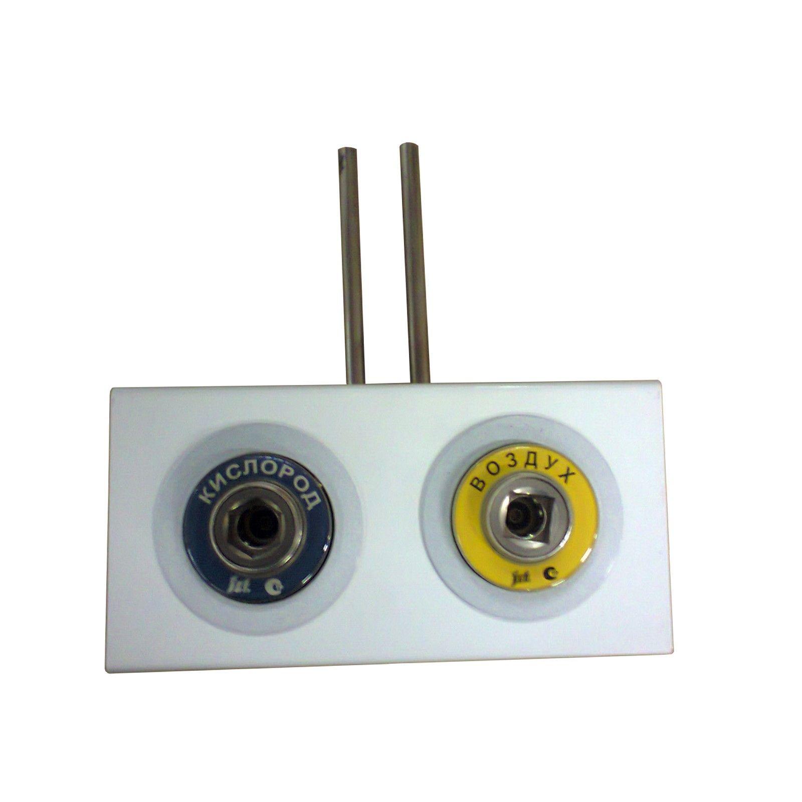 Система клапанная быстроразъемная СКБ-1 двухместная-