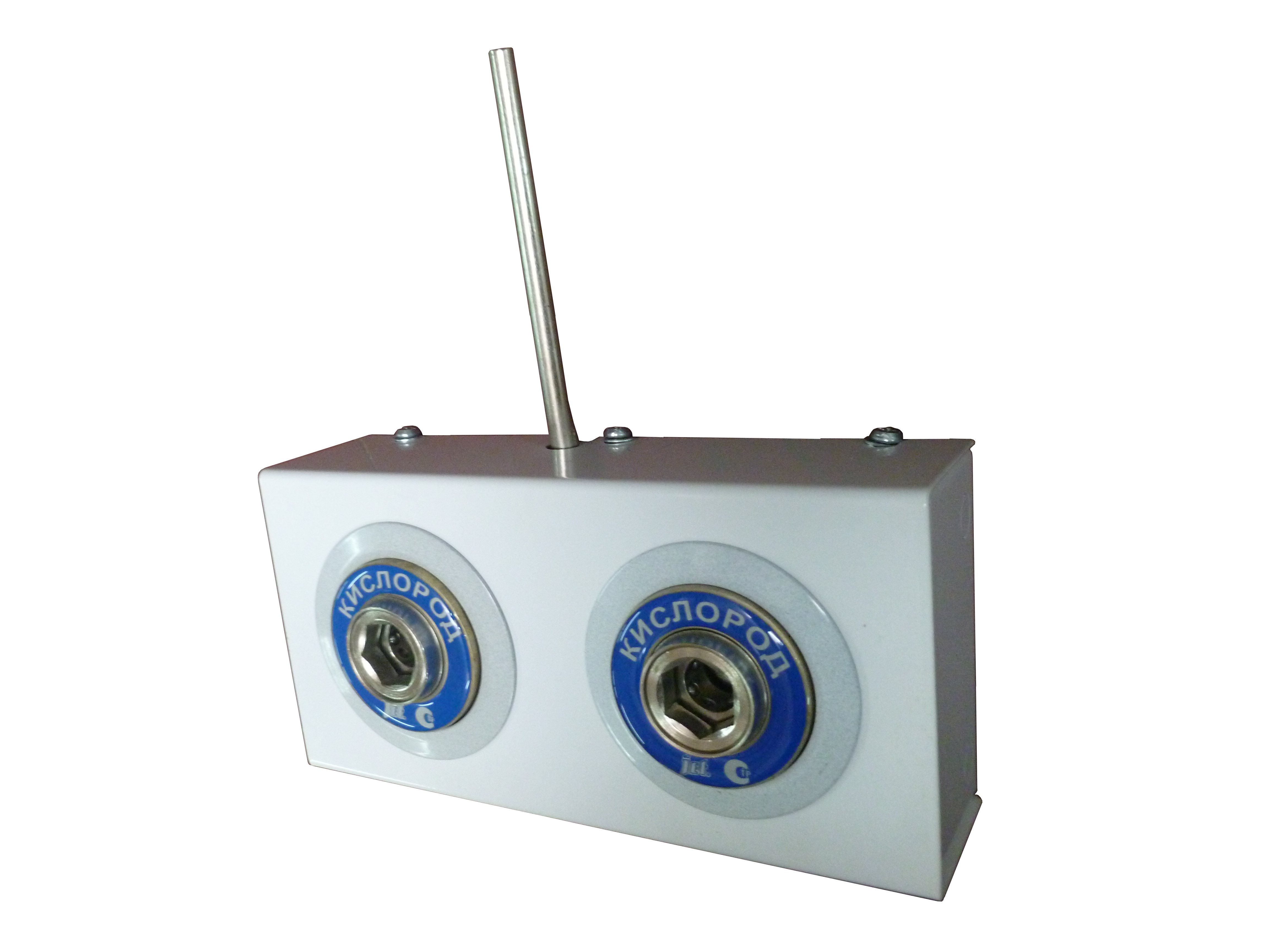 Система клапанная быстроразъемная СКБ-1 двухместная