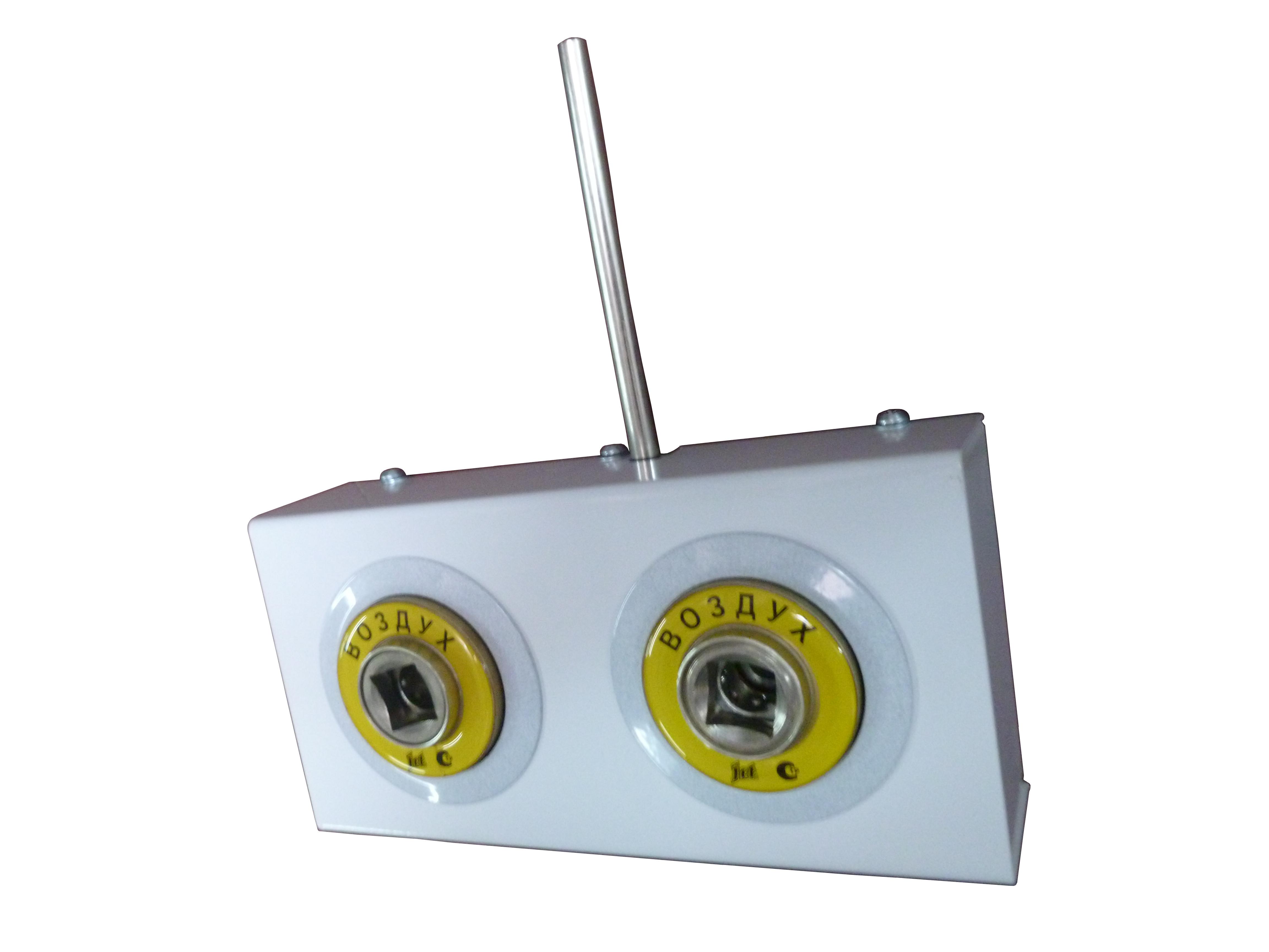 Система клапанная быстроразъемная СКБ-1 двухместная_