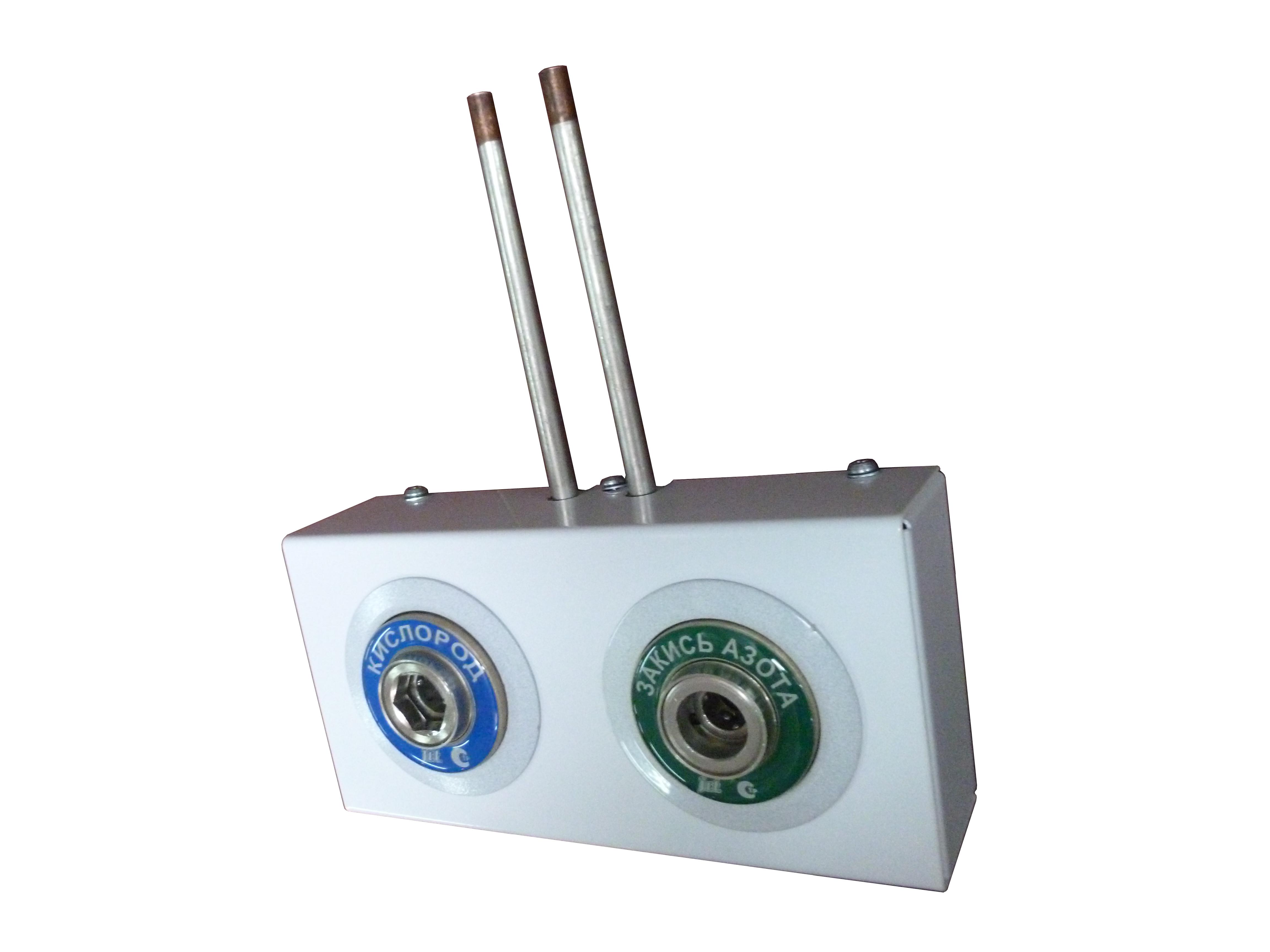 Система клапанная быстроразъемная СКБ-1 двухместная__