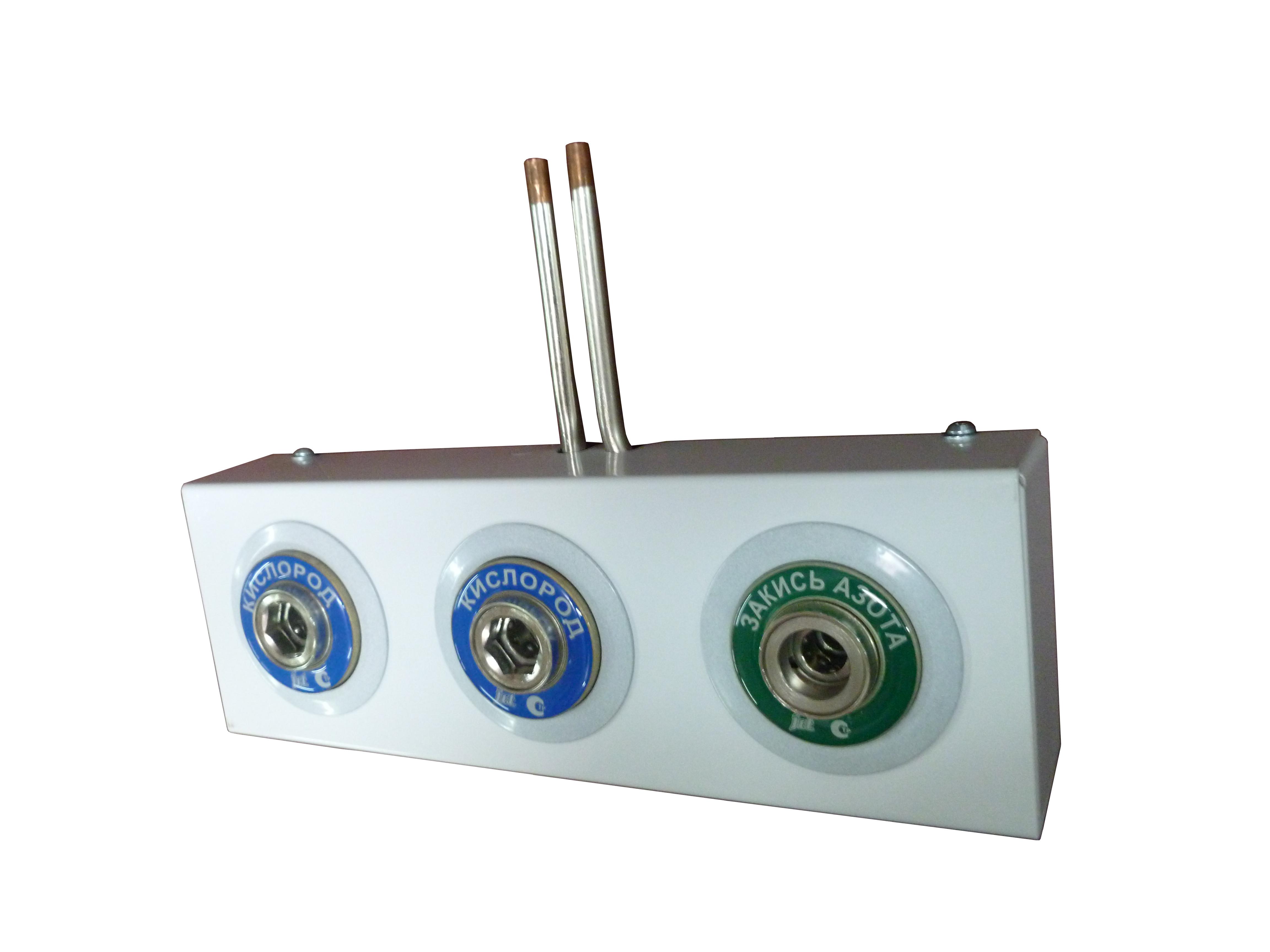 Система клапанная быстроразъемная СКБ-1 на 3 газа