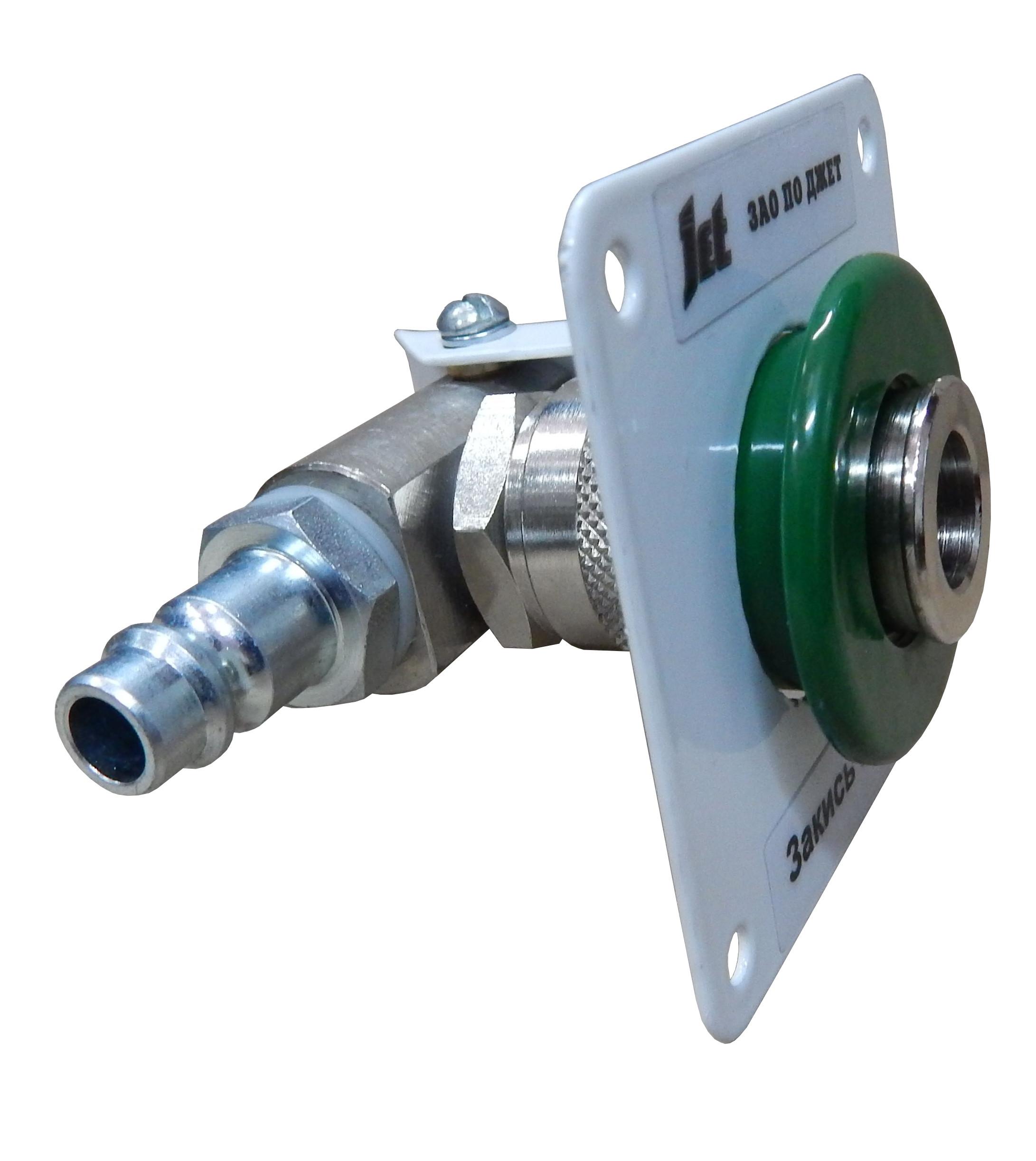 Система клапанная быстроразъемная СКБ-2 открытого типа закись азота (клапаны CAMOZZI)1