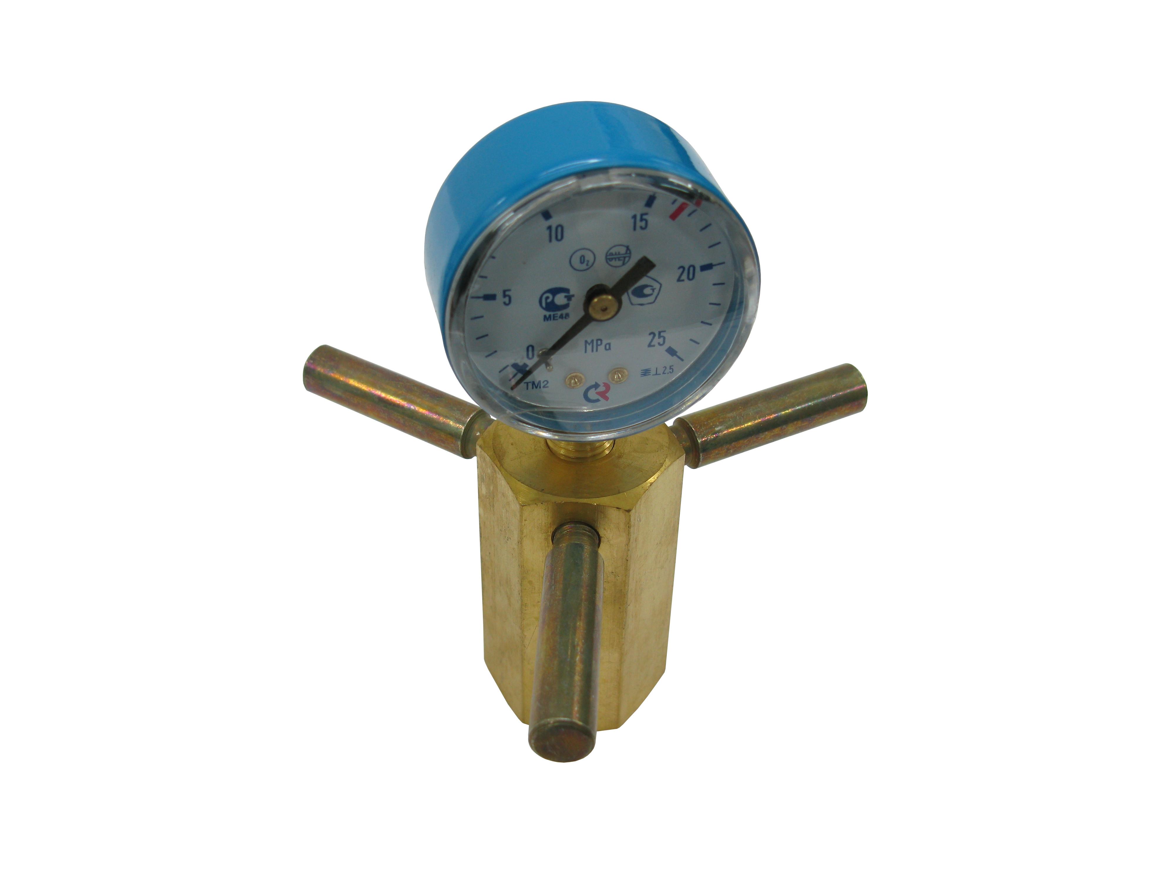 Устройство для проверки давления (кислород)