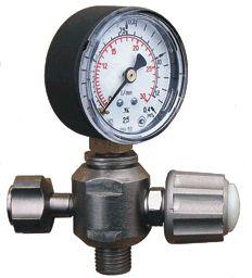 4. Клапан запорный К-2413-10 (РРК-30М DIN) - регулятор расхода кислорода-