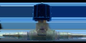 Клапан рукавный Ду6-9 (вентиль газовый в разрыв рукава)