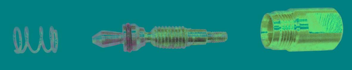 1 Кланан в сборе вентиля Газ, Кислород  подогревающий Р3П, Р2А