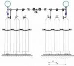 Рампы газовые двухплечевые (перепускные)