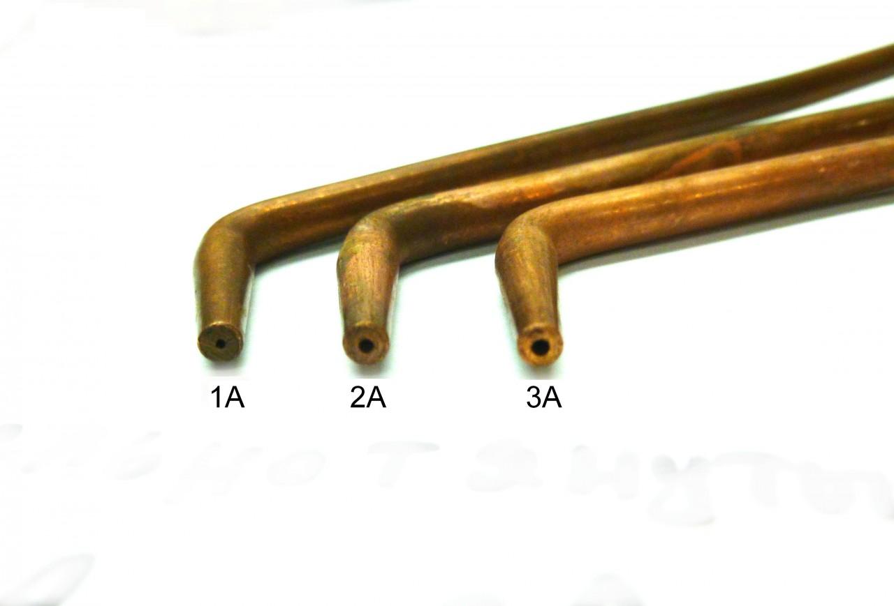 Наконечники горелки цельнотянутый №1А, №2А, №3А_1