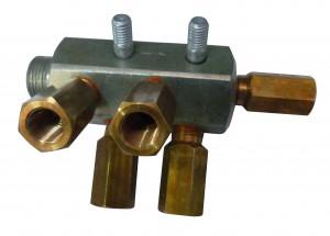 коллектор моноблока метановогона 5 баллонов А6; В14